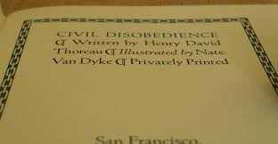 civil disobedience by henry david thoreau published by sharp  civil disobedience 8