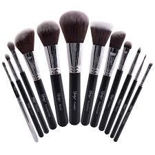 masterful collection makeup brush set black masterful collection makeup brush set black