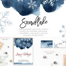 5x7 border template watercolor snowflakes clipart winter graphics 5x7 christmas