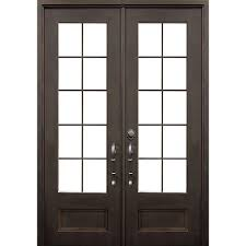 Front Doors double front doors with glass photos : Double Door - Front Doors - Exterior Doors - The Home Depot