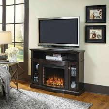 media electric fireplace tv stand in merlot