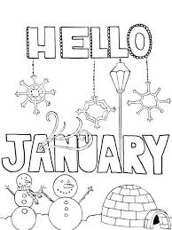 By best coloring pagesnovember 16th 2018. Coloring Pages Hello January Coloring Page