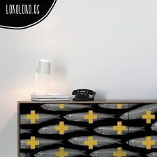 furniture vinyl wrap. home furniture with adhesive vinyl of freak desing elements pattern wrap m