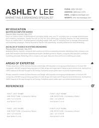 The Ashley Resume Creative Resume For Mac And Word