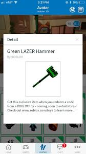 I Got This Item From A Bonus Code In A Roblox Mystery Toy Is It