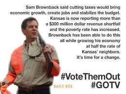 Image result for sam brownback kansas economy