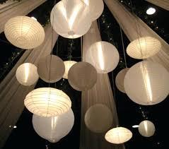 paper lantern chandelier japanese