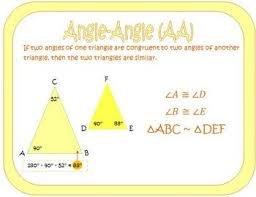 triangle similarity theorems posters triangle similarity theorems posters