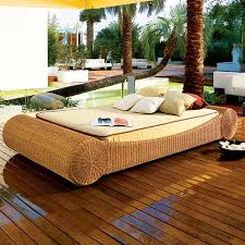 outdoor wicker daybed. Unique Outdoor With Summer Just Around The Corner It Is Time To Laze In  Terrace And Garden So Instead Of Usual Hammock This Year We Suggest You Opt For  For Outdoor Wicker Daybed