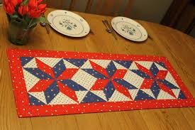 Table Runner Patterns Unique Rachel's Patriotic Star Table Runner Ormond Beach Quilts