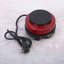 500W 220 240V Mini Bếp Điện Làm Nóng Đĩa Đun Nóng Hộ Gia Đình Bếp Điện Đỏ  EU Cắm Nóng Đĩa mới|Bếp Điện