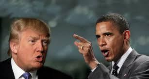 Risultati immagini per Obama vuole far male a Trump