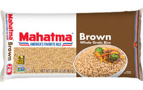 mahatma brown rice. Plain Brown Mahatma Brown Rice Is Naturally Sodium Free Cholesterol And Has No  Saturated Fat Available In 1 2 3 Lb Sizes With Rice A