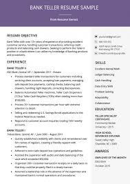 Tips For Resume Format Resume Format Banking The Best Template