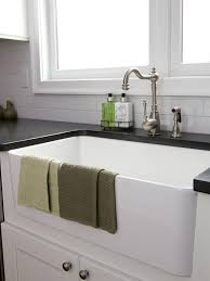 White Apron Kitchen Sink Black Farmhouse Kitchen Sink Quicuacom