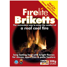 coal direct firelite briketts 50 x 20kg pallet