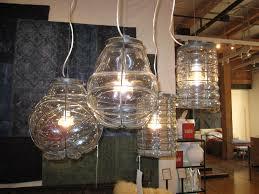 Blown Glass Pendant Lighting For Kitchen Beautiful Beautiful Hand Blown Glass Pendant Lights From Cisco