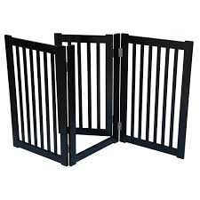 wood gate for amusing large dog stair gate and freestanding dog gates with cat door