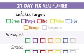21 Day Fix Chart Bedowntowndaytona Com