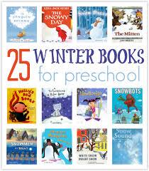 25 winter books for pre
