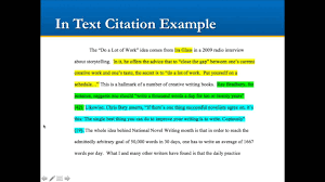 In Text Citation Youtube Video Mla How To Cite A Film Or Video In