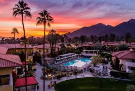 miramonte resort hotel palm springs california sunset
