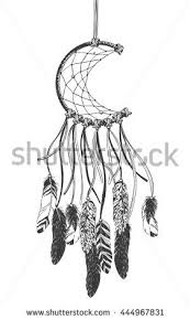Native Dream Catchers Drawings Dreamcatcher Feathers Native American Indian Talisman Stock Vector 24