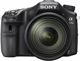 sony digital slr camera. sony - alpha a77 ii dslr camera with 16-50mm lens black front_zoom digital slr