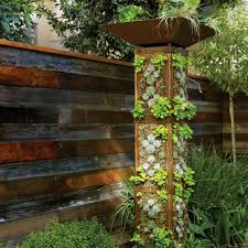 Vertical Kitchen Garden Plant A Garden Tower Sunset