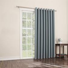 Wide Window Treatments amazon mercer extra wide blackout patio panel 100w x 84l 8074 by xevi.us