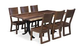 Redwood Forest Table With 4 Side Chairs Hom Furniture