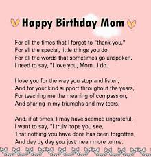 Birthday Quotes For Mom Sinnfindung Adorable Birthday Quotes For Mom