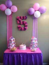 wondrous birthday decorations ideas at home best 25 party on