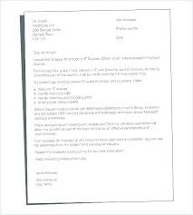 Cover Letter Example Resume Free Cover Letter Examples For Every Job ...