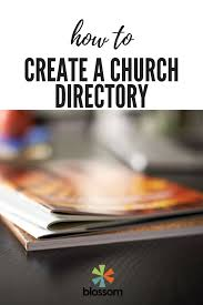 Pictorial Directory Template Word How To Create A Church Directory