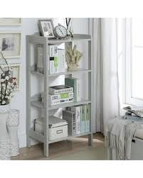 white office bookcase. Sadie Grey Wood Small 4-shelf Office Bookcase (White), Legacy White Office Bookcase C