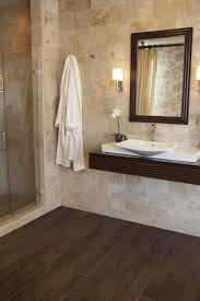 wood tile flooring in bathroom. Perfect Wood Bathroom Space Bathroom Wood Tile Used Master Floors  Look Floor Intended Flooring In R
