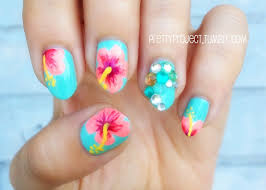 Best 25+ Tropical nail art ideas on Pinterest | Tropical nail ...