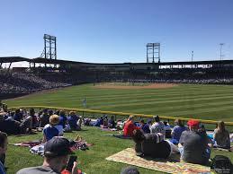 Sloan Park Arizona Seating Chart Sloan Park Ga Lawn Rateyourseats Com