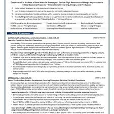 Supply Chain Resume Resume Format For Supply Chain Executive Fred Resumes 50