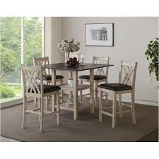 d118 52s new classic furniture paige dining room counter height table