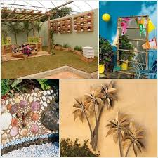 Small Picture Stylish Patio Wall Decor Ideas How To Make Outdoor Wall Art In My
