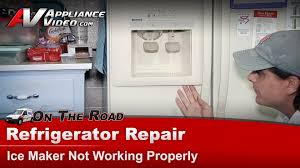 Kenmore Ice Maker Not Getting Water Refrigerator Ice Maker Water Dispenser Not Working Repair