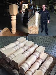 wooden snooker table legs