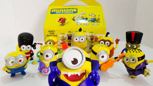 minions mcdonald s happy meal toys complete set of toy minions 2015 mcdonald s happy meal toys complete set of 10 toy review by ilovethistoy