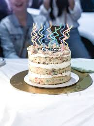 Birthday Cake Sweet With A Nice Tanginess And Saltiness Yelp