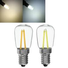 e14 t26 1 5w 2w white warm white led filament light bulb chandelier refrigerator lamp ac220 240v