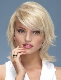 Hairstyle Medium Short Haircuts Round Faces Women Man Choppy