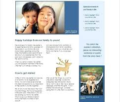 Sample Family Newsletter Reunion Templates Free Example Format