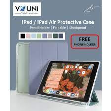 Ốp Máy Tính Bảng Chống Sốc Có Ngăn Đựng Bút Chì Cho Ipad Air 4 / Ipad Pro  11 / Ipad 8 chính hãng